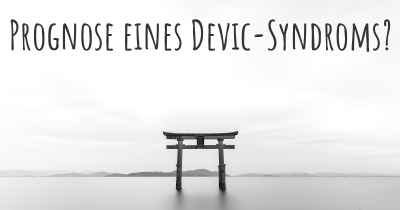 Prognose eines Devic-Syndroms?