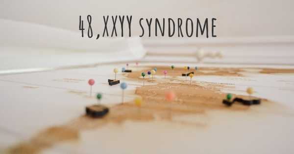 48,XXYY syndrome