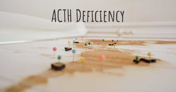 ACTH Deficiency