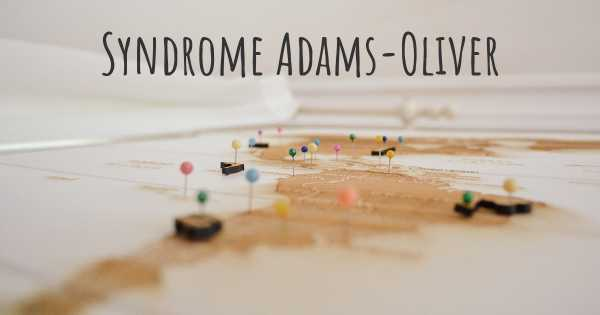 Syndrome Adams-Oliver