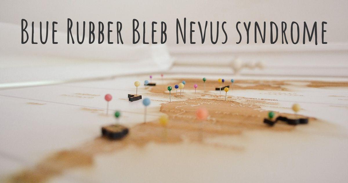 Blue Rubber Bleb Nevus Syndrome Diseasemaps