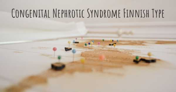 Congenital Nephrotic Syndrome Finnish Type