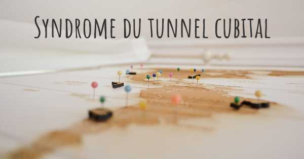 Syndrome du tunnel cubital