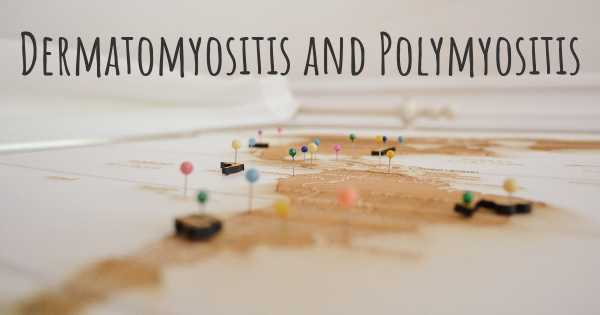 Dermatomyositis and Polymyositis