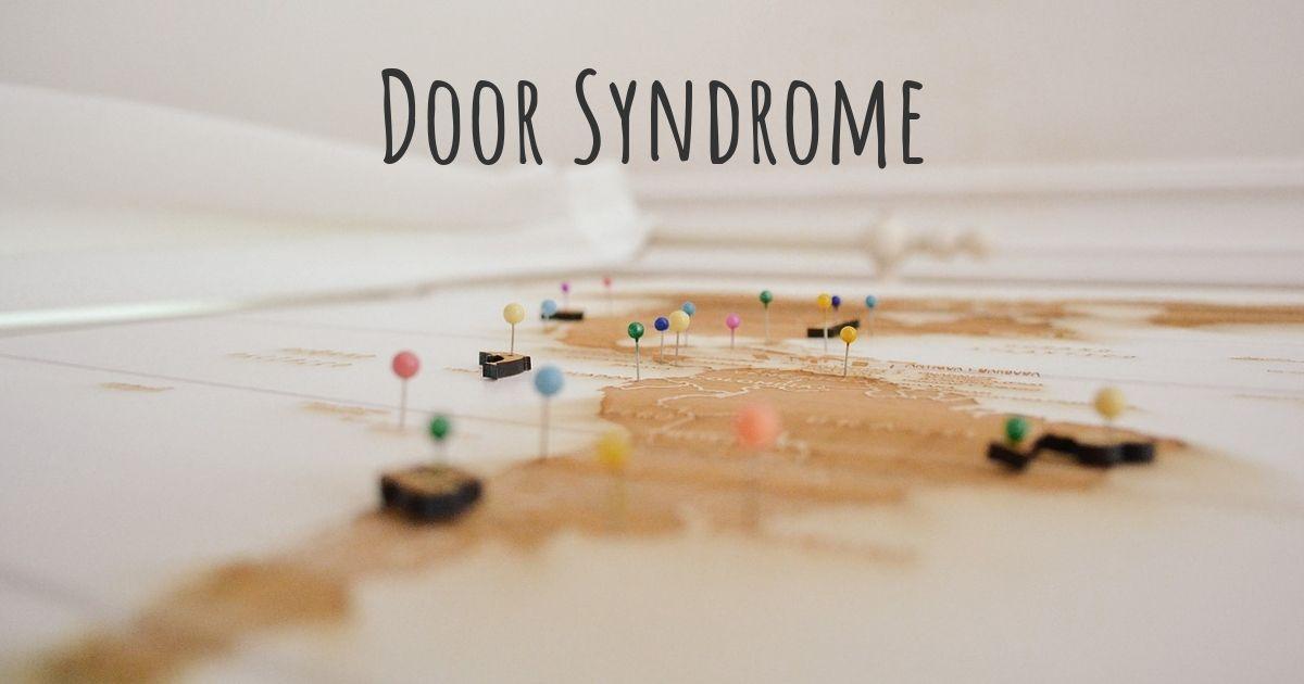 & Door Syndrome | Diseasemaps