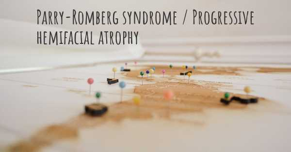 Parry-Romberg syndrome / Progressive hemifacial atrophy