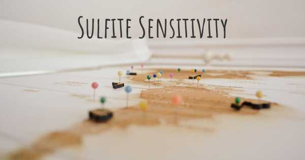 Sulfite Sensitivity