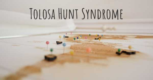 Tolosa Hunt Syndrome