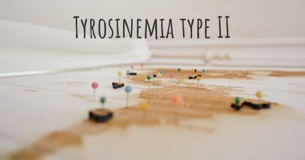 Tyrosinemia type II