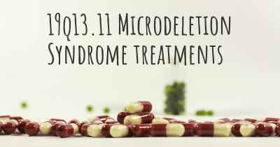 19q13.11 Microdeletion Syndrome treatments