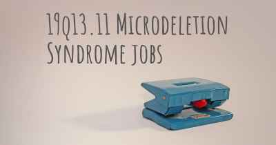 19q13.11 Microdeletion Syndrome jobs