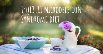 19q13.11 Microdeletion Syndrome diet