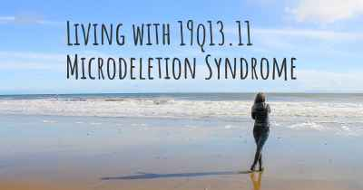 Living with 19q13.11 Microdeletion Syndrome