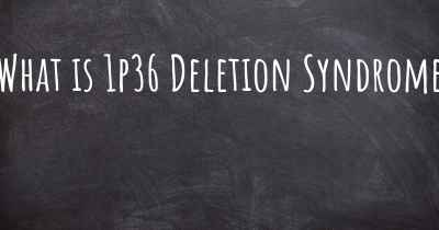 What is 1p36 Deletion Syndrome