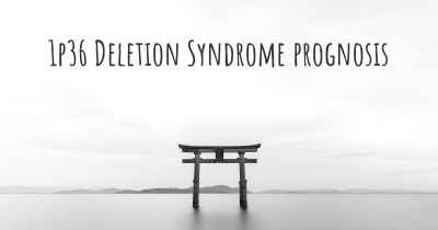 1p36 Deletion Syndrome prognosis