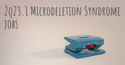 2q23.1 Microdeletion Syndrome jobs