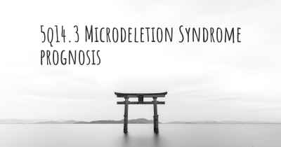 5q14.3 Microdeletion Syndrome prognosis