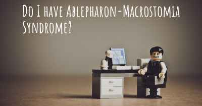 Do I have Ablepharon-Macrostomia Syndrome?