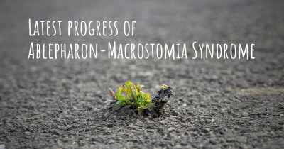 Latest progress of Ablepharon-Macrostomia Syndrome
