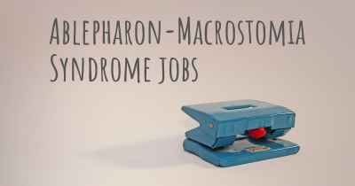 Ablepharon-Macrostomia Syndrome jobs