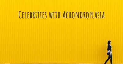 Celebrities with Achondroplasia