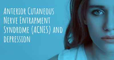 Anterior Cutaneous Nerve Entrapment Syndrome (ACNES) and depression