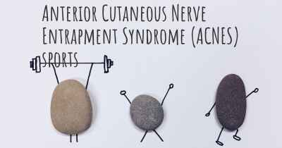 Anterior Cutaneous Nerve Entrapment Syndrome (ACNES) sports