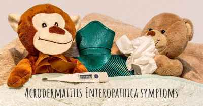 Acrodermatitis Enteropathica symptoms