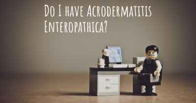 Do I have Acrodermatitis Enteropathica?