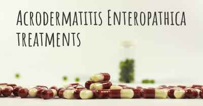 Acrodermatitis Enteropathica treatments