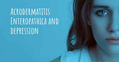 Acrodermatitis Enteropathica and depression