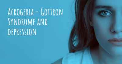 Acrogeria - Gottron Syndrome and depression