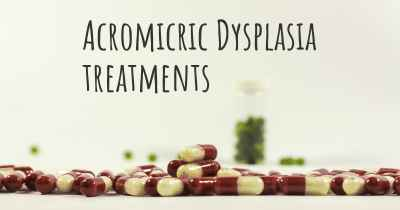 Acromicric Dysplasia treatments