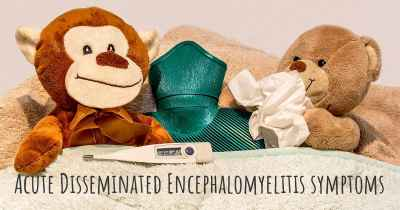 Acute Disseminated Encephalomyelitis symptoms