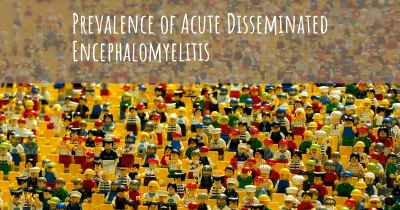 Prevalence of Acute Disseminated Encephalomyelitis