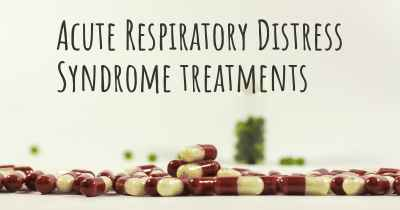 Acute Respiratory Distress Syndrome treatments