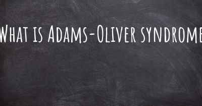 What is Adams-Oliver syndrome