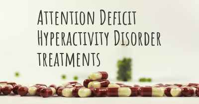 Attention Deficit Hyperactivity Disorder treatments