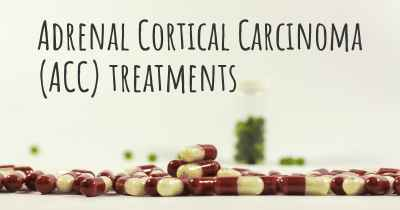 Adrenal Cortical Carcinoma (ACC) treatments