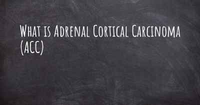 What is Adrenal Cortical Carcinoma (ACC)