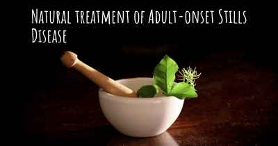 Natural treatment of Adult-onset Stills Disease