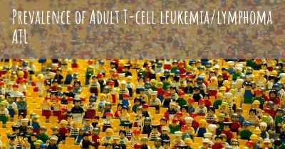 Prevalence of Adult T-cell leukemia/lymphoma ATL