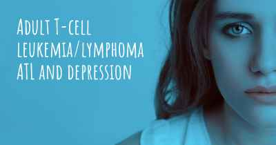 Adult T-cell leukemia/lymphoma ATL and depression