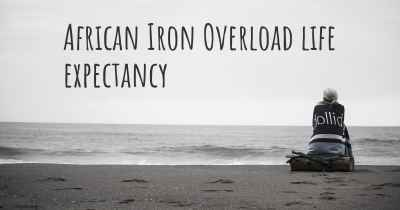 African Iron Overload life expectancy