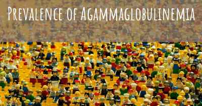 Prevalence of Agammaglobulinemia