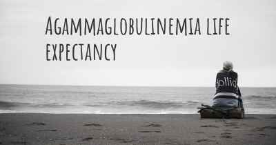 Agammaglobulinemia life expectancy