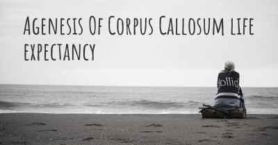 Agenesis Of Corpus Callosum life expectancy