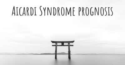 Aicardi Syndrome prognosis