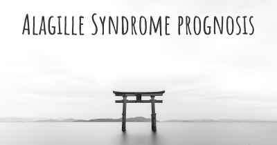 Alagille Syndrome prognosis