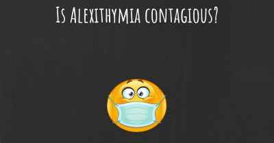 Is Alexithymia contagious?